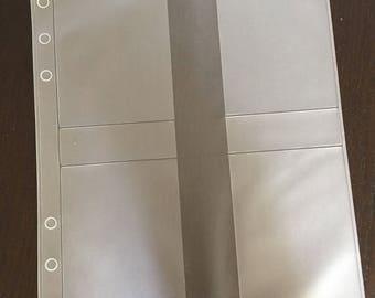 A5 Filofax Kikki K Large Planner Card Holder