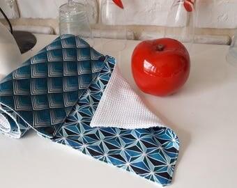 Wipe any graphic lavabke blue tone