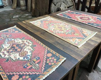 Turkish Oushak Small Rugs
