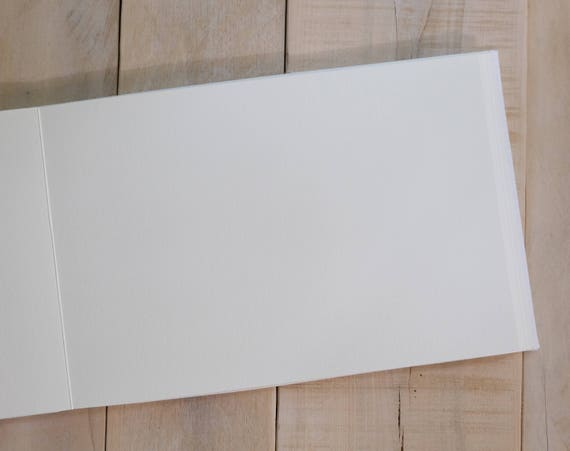 Additional 20 Lined or Unlined Pages Added to Your Hand Bound Guest Book