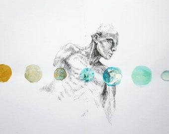 Modern Relic: Cosmos A5 print