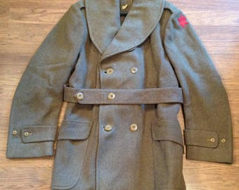 Vintage US ARMY Wool Coat  001