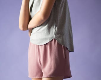 Comfy Jace Short with Elastic Waistband and Pockets
