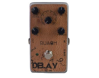 Ruach DD1 Digital Delay Guitar Effects Pedal