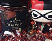 Harlequinn   Harley Quinn Inspired Candle   Orange and Chili Pepper