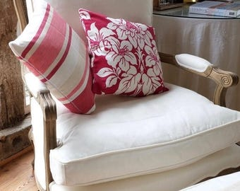SAMPLE CLEARANCE Throw Pillow, Cushion Cover.  Selection of Laura Ashley Fabrics or YOUR Fabric
