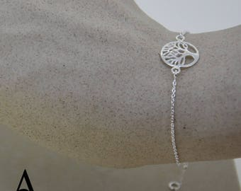 925 Sterling Silver Tree of life Bracelet Jewellery Atlas Charm Free Shipping in Uk