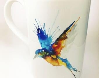 Diving Kingfisher Mug