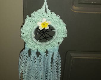 crochet wall decoration/dreamcatcher