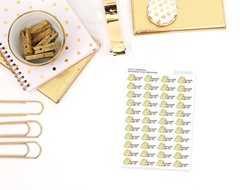 homework // School » Homework Due Planner Stickers - Perfect for any planner, calendar, etc!