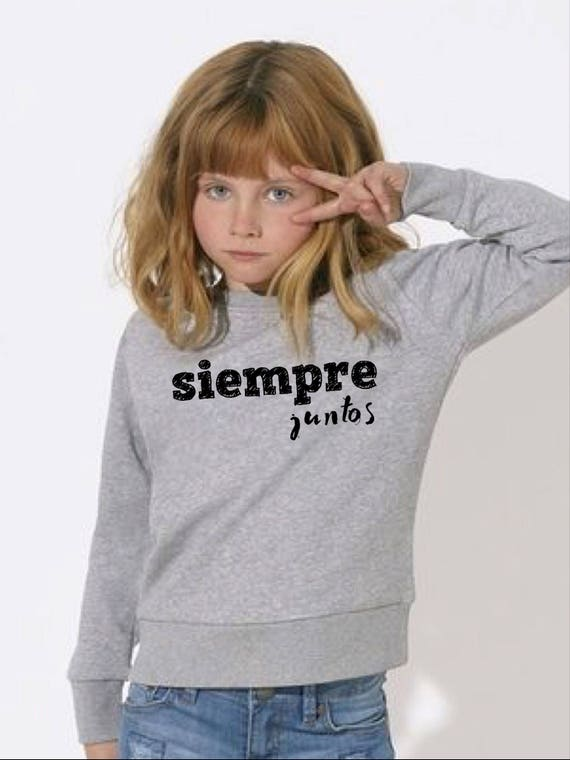 Boy Girl Baby sweater JUNTOS DESDE... (together since...)