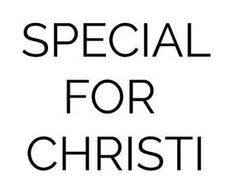 Special for Christi