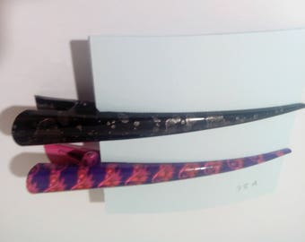 2 alligator hair clips metal long beak hair pins clips for long thick hair, 13 cm length (5 inch)