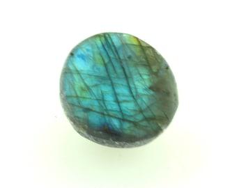 Flashy labradorite seer stone,  stunning  flash sliced 'dragon egg' crystal, ema egg