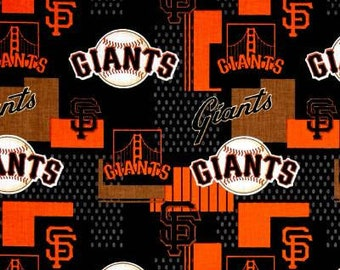 San Francisco Giants Fabric by the Yard