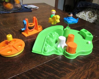 Vintage Fisher Price Little People Playground