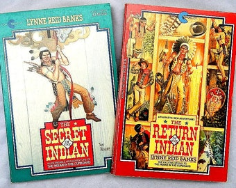 The Return of the Indian and The Secret of the Indian Pair of Vintage Paperback Books