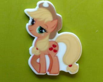 Apple Jack My Little Pony inspired Planar Resin