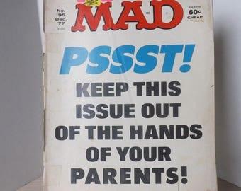 4- 1977 MAD COMIC BOOKS