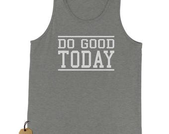 Do Good Today Jersey Tank Top for Men