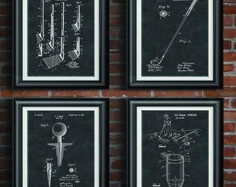 Golf Patent Print Golf Decor Office Wall Art Golf Decoration Golf Lovers  Gift Office Decor Man