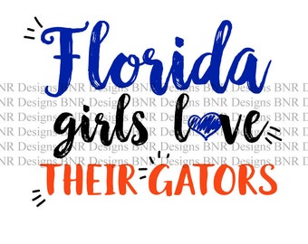 Florida SVG, Florida Gators SVG, DXF File, Cricut File, Cameo File, Silhouette File