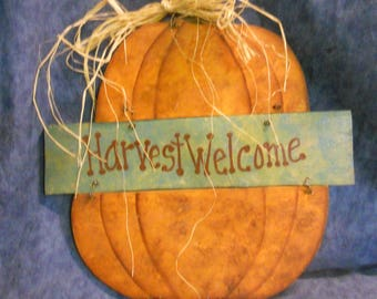 Harvest Welcome Fall Wall/Door Hanging