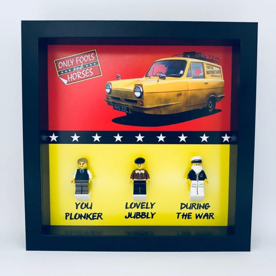 Only Fools And Horses 3PC Minifigure Frame