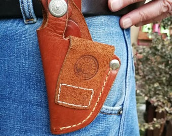Taurus brown holster, belt holster