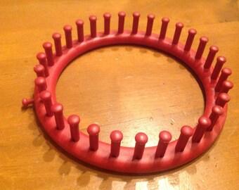 Knitting hoop