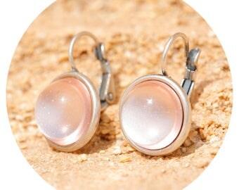 artjany earring silver rose
