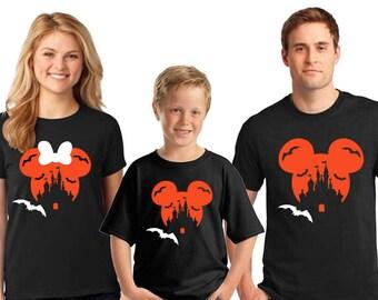 Matching Family Disney Halloween Shirts, Top Seller, Disney Family Shirts, Halloween Family Disney Shirts, Matching Disney Couple Shirts