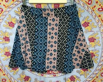 Spring Time Striped Skirt