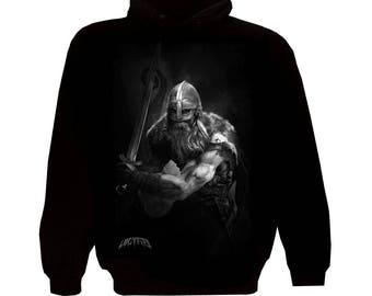 Zipper Hoodie Viking Warrior