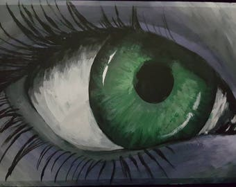 Look Inside Yourself Hand-Painted BH Cosmetics Smokey Eyes Palette