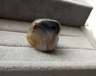 Healing Agate tumbled stone ,hakra Healing, Crystal, Spiritual Stone