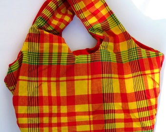 tote bag 100% cotton Madra red tote bag charges of offered PORT in France!
