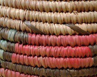 Coil indian basket