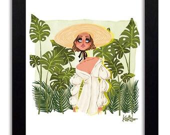 Jacquemus - Fashion Illustration Print Fashion Print Fashion Art Fashion Wall Art Fashion Poster Fashion Sketch Art Print