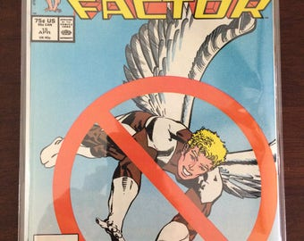 X Factor #15 Angel Xmen Marvel