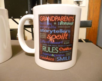Grandparents Day Gift--September 10th coffee mug, tea mug, hot chocolate mug