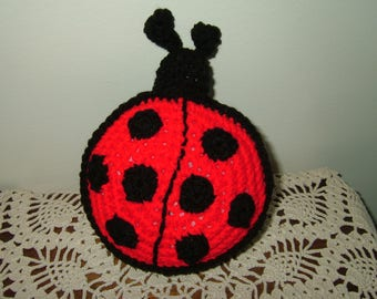Hand Crocheted Lady Bug