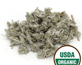 Certified ORGANIC SAGE leaf, Kosher, Irradiation free. Salvia officinalis. You choose size! Culinary uses, teas, Spiritual practices