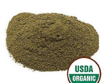Lemon Balm Leaf Powder, Organic 1 lb. POUND