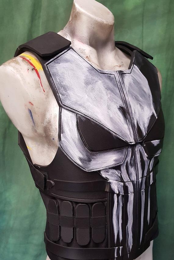 Punisher Netflix Tactical Vest Diy Foam Templates From