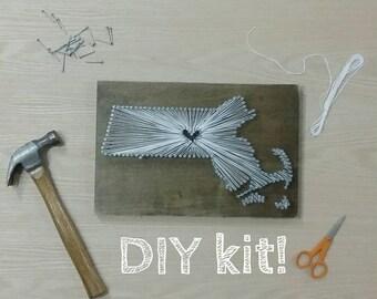 Diy michigan string art kit state string art kit michigan diy massachusetts string art kit state string art kit massachusetts nail art massachusetts prinsesfo Gallery