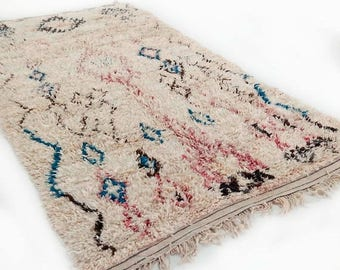 RESERVED for Wil SALE 30% OFF Moroccan Rug -  Talsint - C80 (11.6 x 5.6 ft) Boucherouite - Talsint