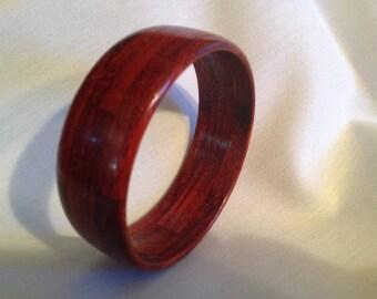 Wood bangle bracelet #22