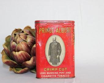 Vintage Prince Albert Prime Cut Tobacco Tin
