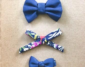 Vintage Style Bow Set